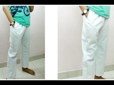 Summer Pyjama -  Cutting & Sewing loose pajama with Side Seam Pocket pattern- DIY pajama