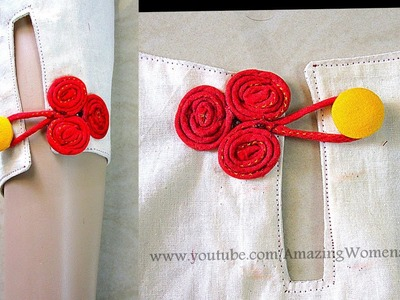Tri Wheel Chinese Knot Buttons | Frog Closures | Handmade Fancy Buttons | DIY