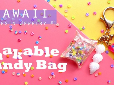 UV Resin Jewelry Tutorial: Shakable Candy Bag