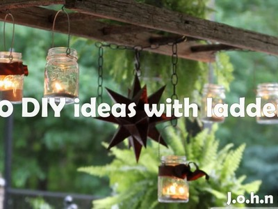 50 DIY ideas with ladders