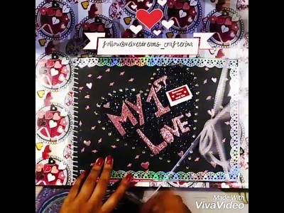 Anniversary Scrapbook for Husband ????