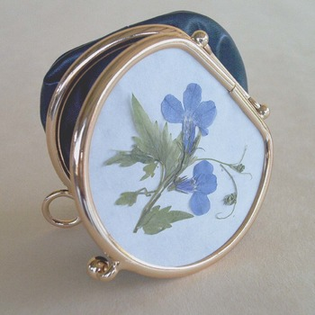 Coins Bag - Lobelia Flower