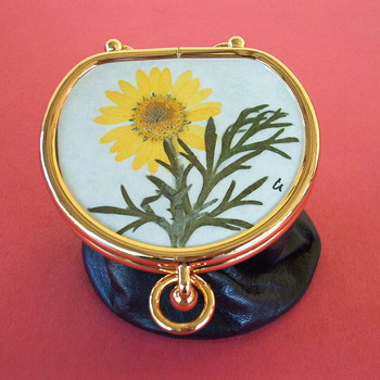 Coins Bag - Camomile Flower