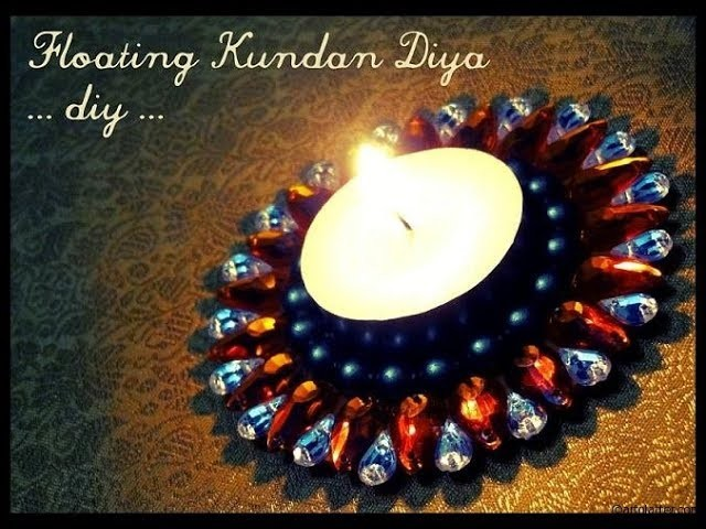 Diwali.Christmas decoration Ideas : How to Decorate Candles or Diya by Trends 2017