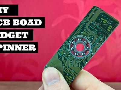 DIY Circuit Board Fidget Spinner | DIY PCB Fidget Spinner
