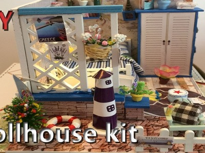 DIY Dollhouse Miniature Kit. The Starry Sea For Decoration Toy