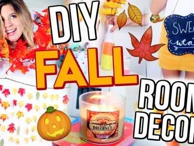 DIY Fall Room Decor!! | Tips + Tricks to Decorate Your Room!