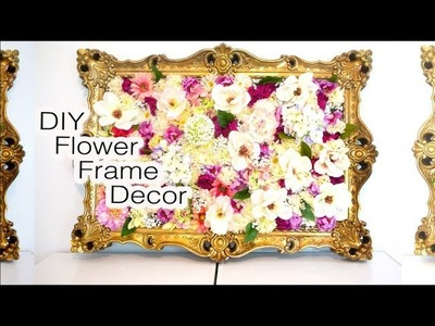 DIY Flower Frame Decor 2017