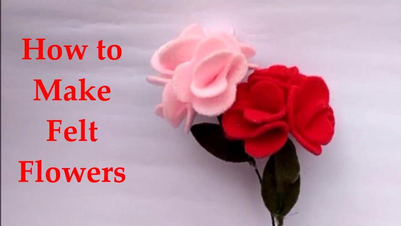 Diy how to make felt flower tutorial easy simple cara membuat diy how to make felt flower tutorial easy simple cara membuat bunga flanel izmirmasajfo
