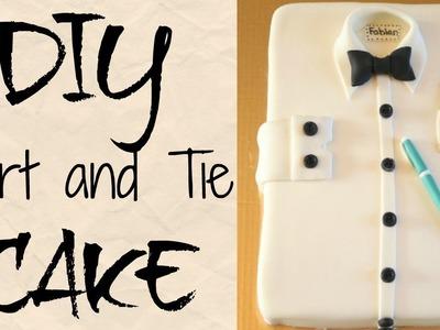 DIY SHIRT & BOW TIE CAKE    Janie's Sweets