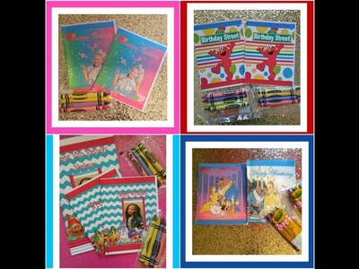 DIY, tutorial, template for mini, jumbo sized coloring books publisher microsoft