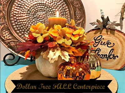 Dollar Tree Floral Centerpiece!! **Easy DIY**