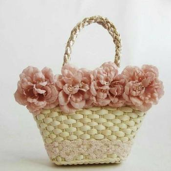 Handmade woven handbag