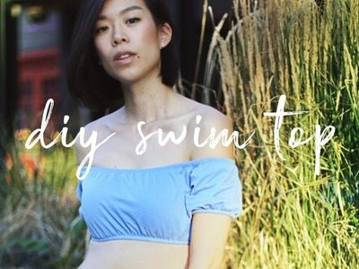 HOW TO MAKE A CUTE SWIM TOP | WITHWENDY
