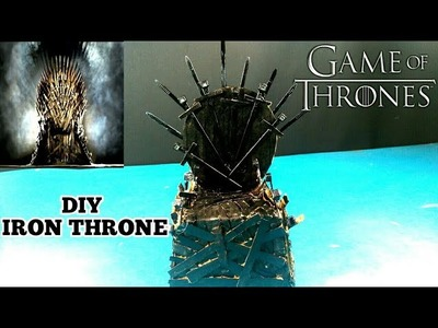 How to Make IRON THRONE CHAIR With Cardboard at Home DIY