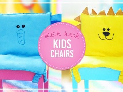 IKEA 'Lätt' Hack | DIY Kids chair cushions