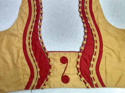 New model blouse designing at home(DIY)