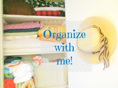 Organize With Me | Linen Closet Organization Ideas | DIY | Indian Closet Cleaning And Organizing