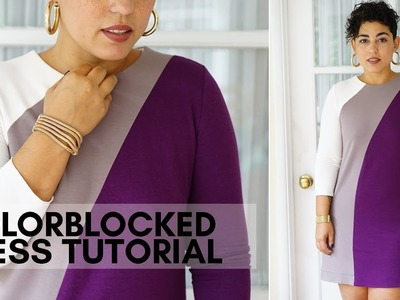 PATTERN HACK: DIY  DVF INSPIRED DRESS TUTORIAL