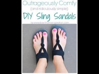 Pinterest Yoga Sling Sandals DIY - Pass or Fail?