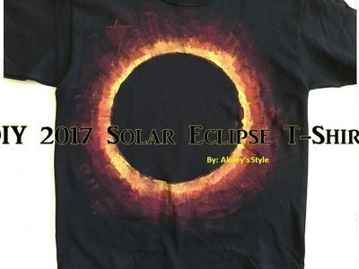 Solar Eclipse 2017 Shirt | DIY Clothes