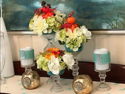 Super Easy Ways to Decorate for Fall || DIY Dollar Tree