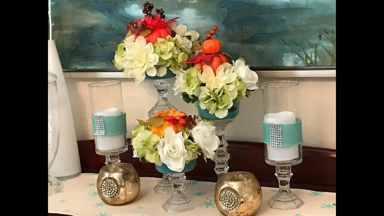 Super Easy Ways to Decorate for Fall    DIY Dollar Tree