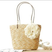 Woven Handmade Shoulder beach bag