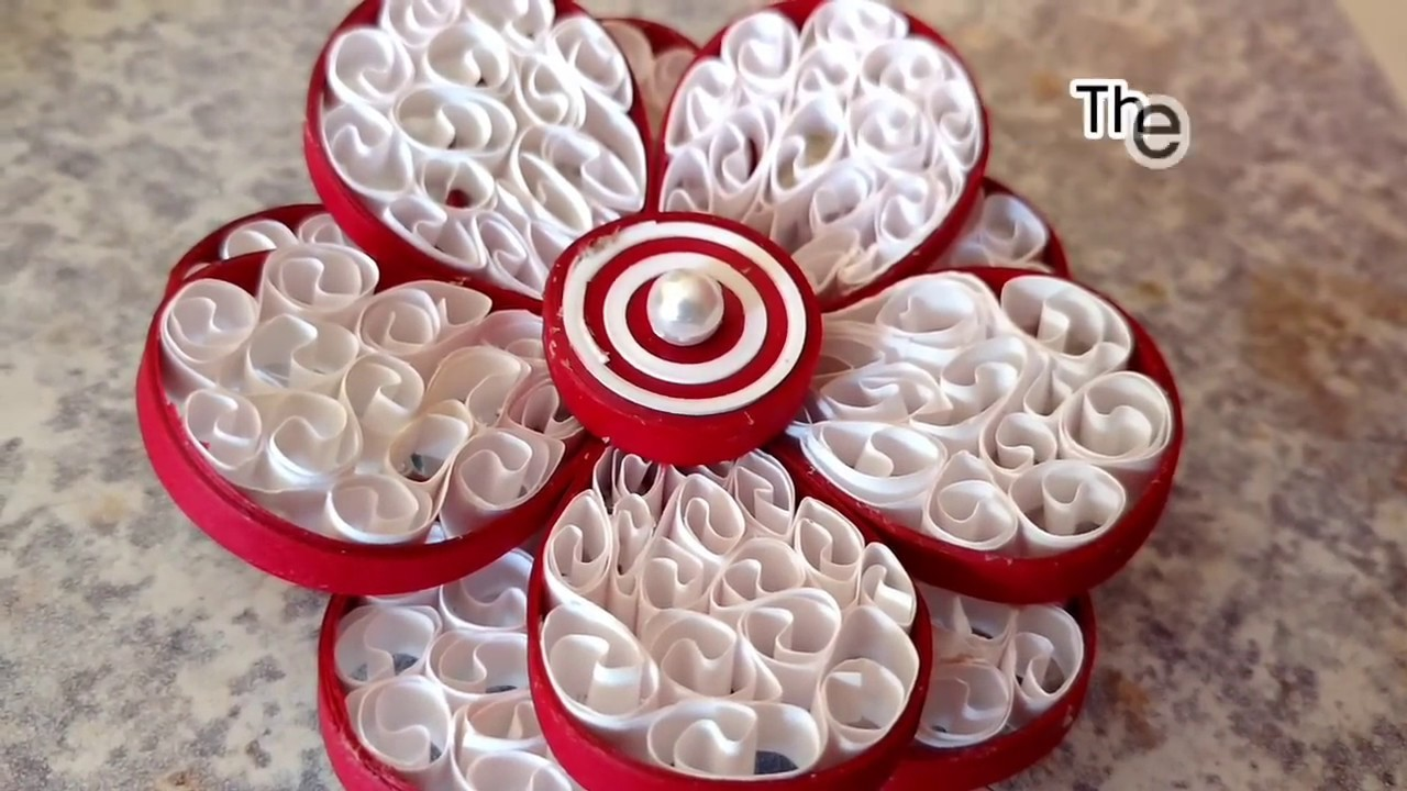 3d Quilling Tutorial How To Make 3d Quilling Flower Paper Quilling