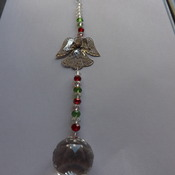 Angel crystal suncatcher or Christmas decoration