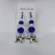 Crystal Earrings for pierced ears