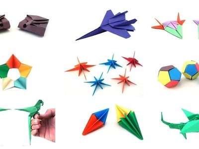 Easy Origami: Easy Origami For Kids #5 | 90 Seconds of Origami