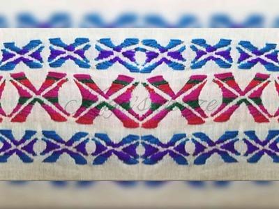 Hand embrodiary design | Nokshi chok par stitch | Keya's craze | hand embroidery | 112