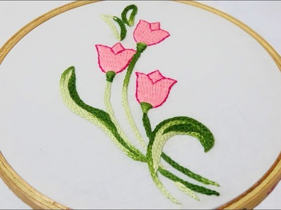 Hand Embroidery: Burden Stitch & Braid Chain Stitch