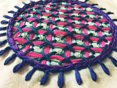 Hand embroidery design   Swedish hand embroidery variation   Keya's craze  149