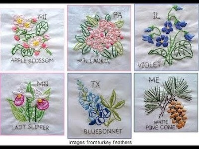 Hand Embroidery New designs stitch by HUMARIA ARTS