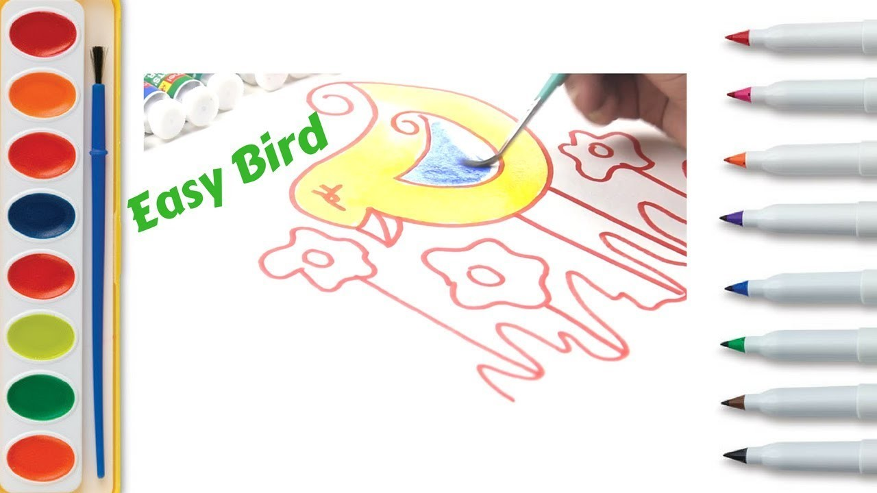 beginners drawing lessons for kids learn how to draw - 1280×720