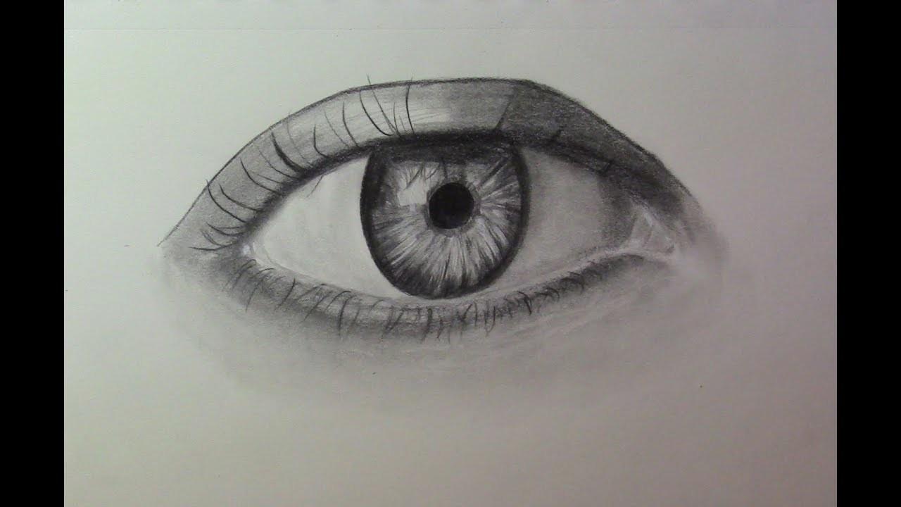 How To Draw Realistic Eye Step By Step Easy
