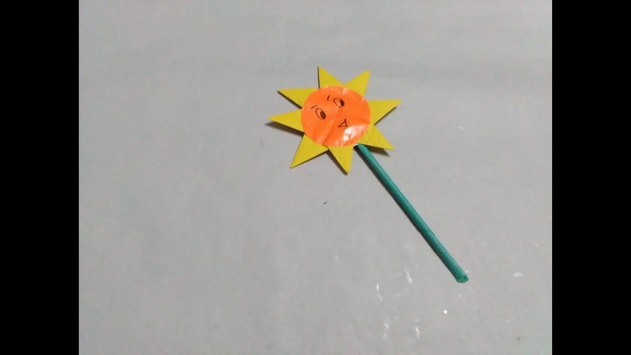 How to make a sunflower origami sunflower in easy way my how to make a sunflower origami sunflower in easy way jeuxipadfo Gallery