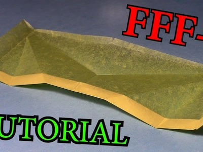How To Make FFF-1 Paper Airplane Follow Foil (John Collins)