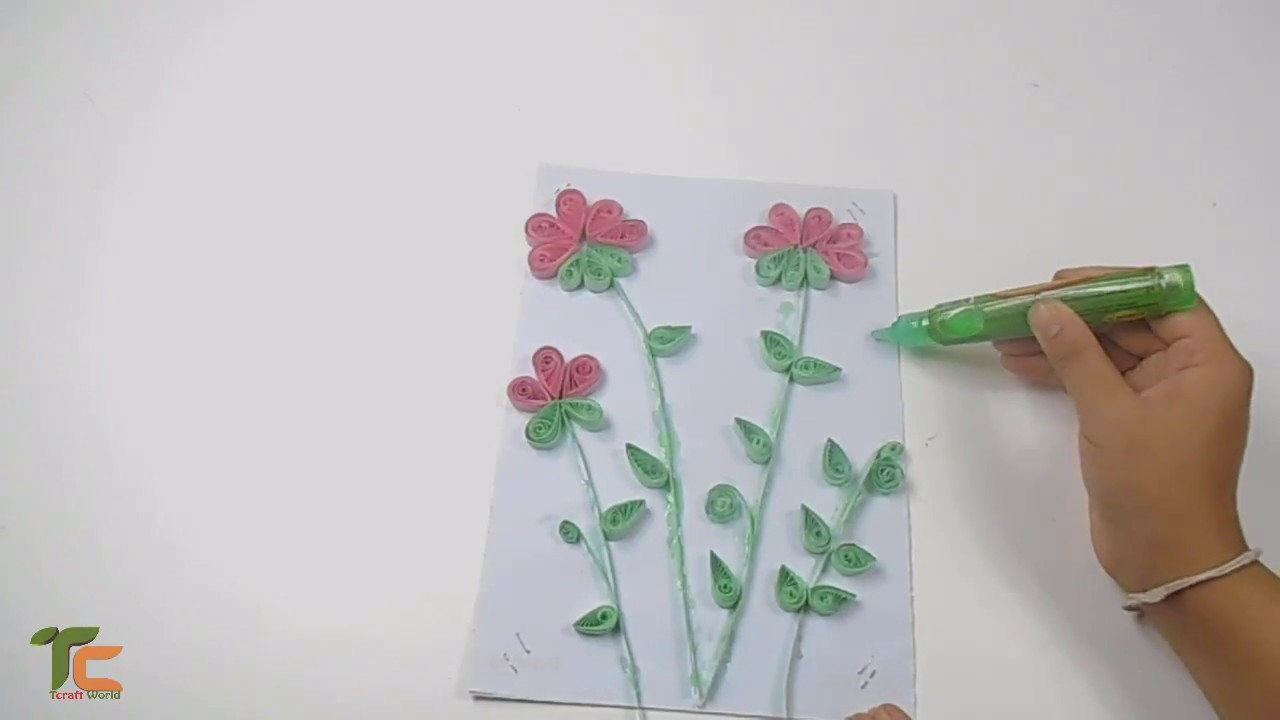 How to Make Paper Quilling Wall Frames. Wall Decoration. Greeting Card!!