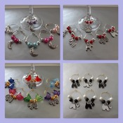 Wine Glass Charms Set of 6