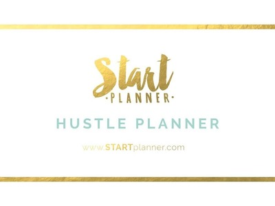 2018 Hustle Planner with STARTplanner