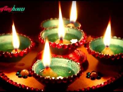 Awesome Deepak Stand to Lightup Your House on Diwali | DIY Home Decor