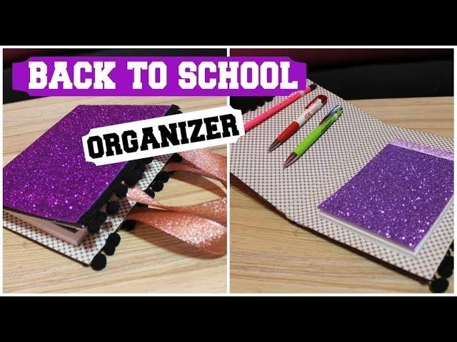 BACK TO SCHOOL. HOW TO MAKE ORGANIZER. Kako napraviti organizator za skolu.  Vuelta a Clases