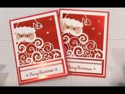 Detailed Santa Christmas Card