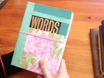 DIY books and journals ideas recycle and make do
