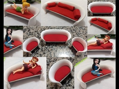 DIY  Como Fazer Mini Poltrona PVC. How to Make Mini PVC Armchair