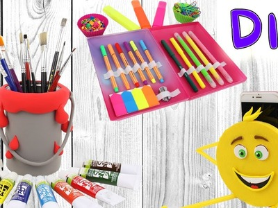 DIY Compilation 2017 | How To Make School Supplies | iPhone Holder