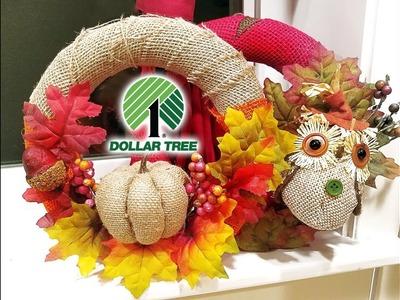 DIY Fall Wreaths | Dollar Tree items ????